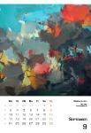 September Kunstkalender Kalender 2018 Ute Laum