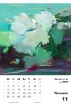 November  Kunstkalender Kalender 2018 Ute Laum