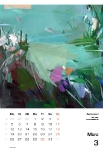 März  Kunstkalender Kalender 2018 Ute Laum