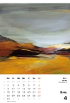 April  Kunstkalender Kalender 2018 Ute Laum