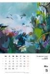 Mai  Kunstkalender Kalender 2018 Ute Laum