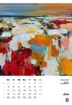 Juni  Kunstkalender Kalender 2018 Ute Laum