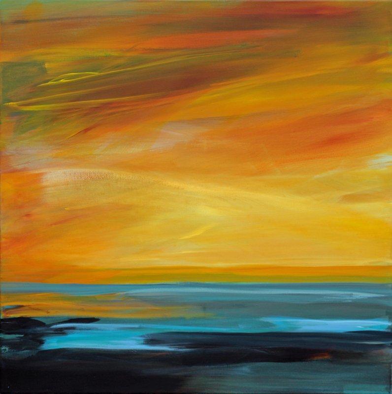 Landschaftsmalerei expressionismus nolde  Ute Laum   Landschaft, Malerei