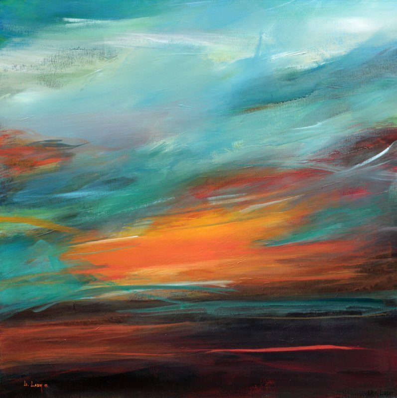 Abstract Landscape Painting Images
